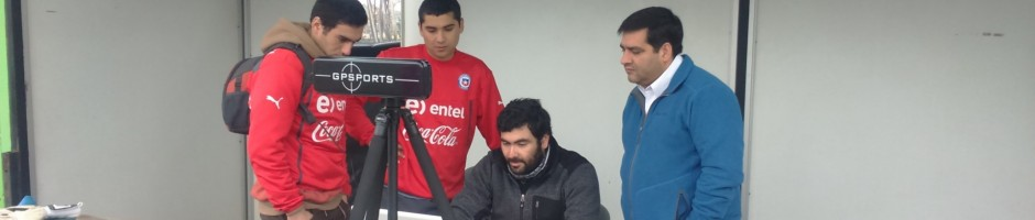 Chile national team benefiting from Sport Science support