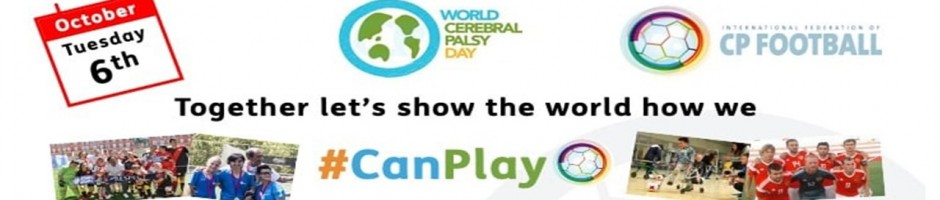 We #CanPlay for World CP Day