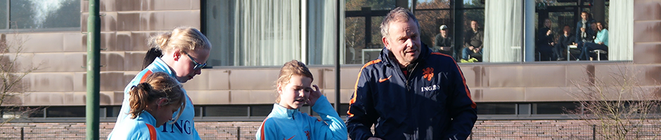 Netherlands host their first ever female CP Football training session