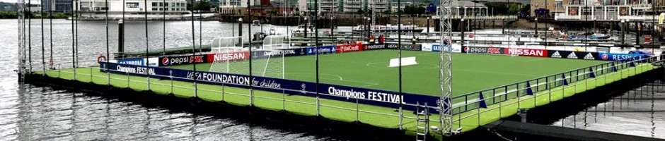 CP Football on display at the UEFA Champions Festival