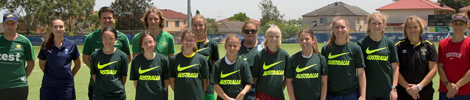 NSW hosts historic first girls only CP Football clinic