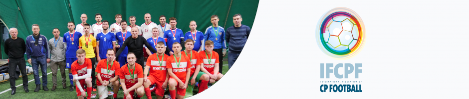 Russia celebrates 25 years of CP Football with Legends Cup