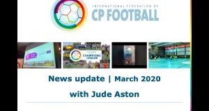 IFCPF - March 2020 with Jude Aston