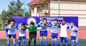 First Football Championships for children with CP in Almaty Kazakhstan