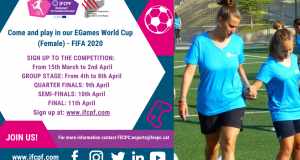 Registration open for EGames World Cup (Female) - FIFA 2020