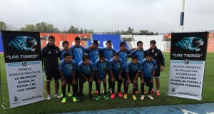 Argentina's new under 16 CP Football Team take to the pitch at Estadio Malvinas Argentinas for their first training session