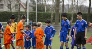 Japanese CP Football team Under 14 in The Netherlands