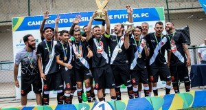 Vasco de Gama 2018 Brazilian CP Football champions