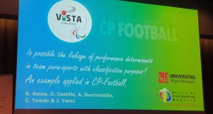 CP Football research on show at VISTA conference