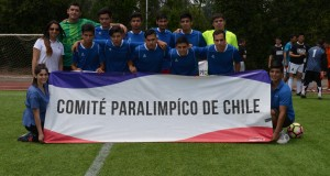 National CP Football Tournament takes place in Chile