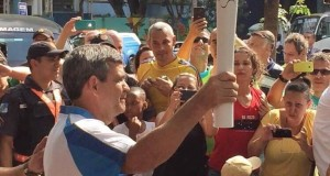Paulo honoured to carry the Paralympic Flame