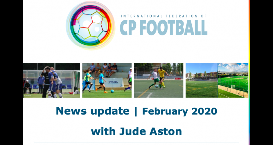 IFCPF - February 2020 with Jude Aston